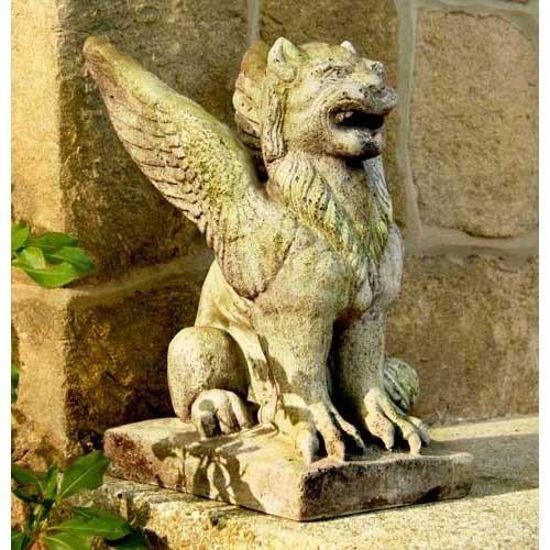 orlandistatuary-fs9107-gargoyles-big-mouth-griffin-statue