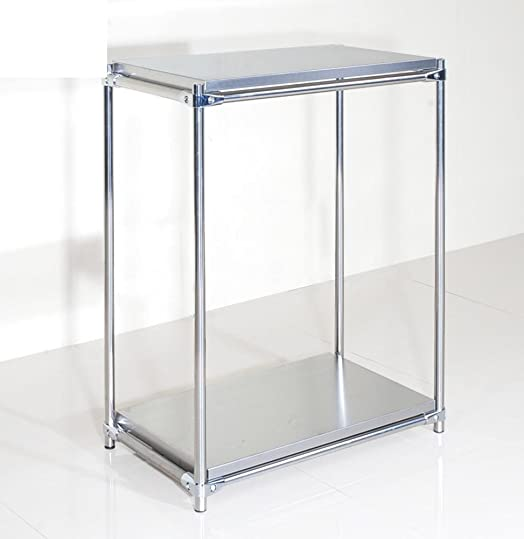 Acciaio inossidabile strato piatto rack/Bagno rack di stoccaggio/pavimento al soffitto scaffali in cucina/griglie del forno microonde-B