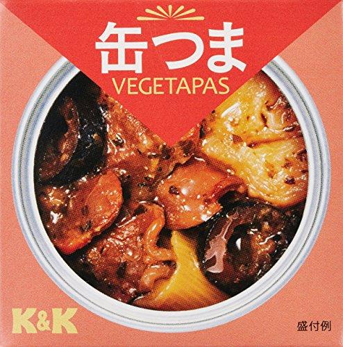 K&K 缶つまベジタパス 砂肝とネギのコンフィ 75g
