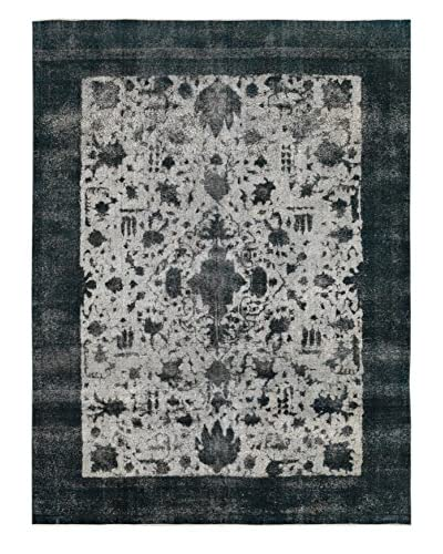 Kalaty One-of-a-Kind Pak Vintage Rug, Dark Gray, 9′ 5″ x 12′ 6″
