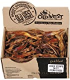Old West Dog Treat All Natural Chew Strips (Beef Tendon) Bulk 50-Count