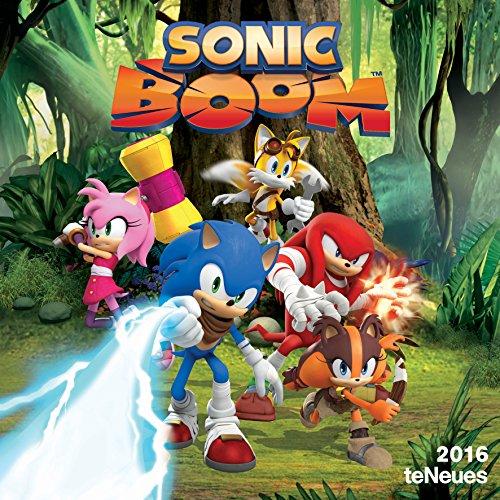 Sonic Boom 2016 Calendar