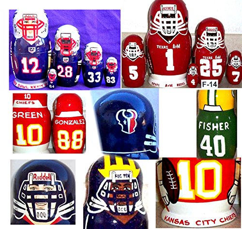 * NFL * Football * Any sport team you like * 5 pcs / 6 in