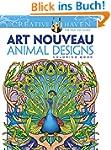 Creative Haven Art Nouveau Animal Des...