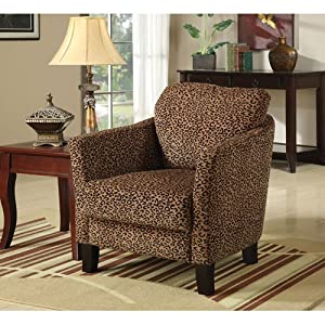 Accent Chair Jungle Cheetah