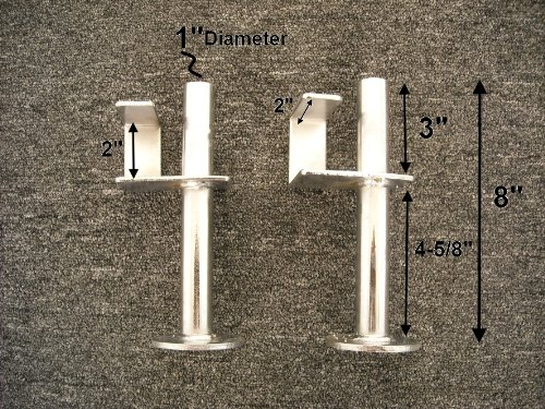 """Extra Bar Catch Weight Pin Pegs For 2"""" Power Rack Like Ppr200X Powerline Bodysolid J Hooks"""