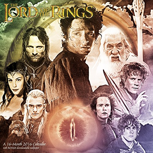 The Lord of the Rings Trilogy Wall Calendar (2016)