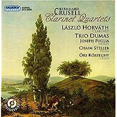 Crusell, B.H.: Clarinet Quartets Nos. 1-3