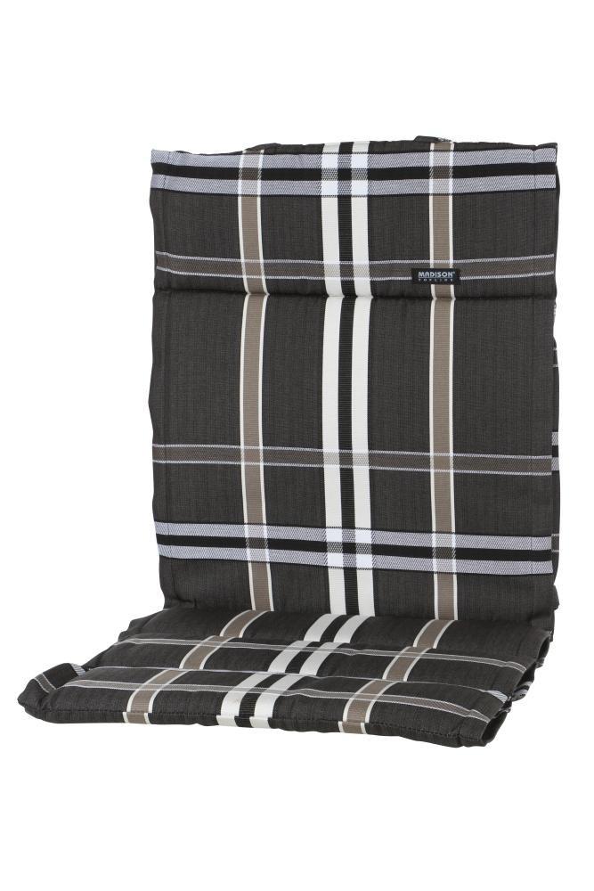 4 Stück MADISON Dessin Nils Sitzpolster, Sitzauflage für Stapelsessel niedrig, Niedriglehner 100% Polyester, 100 x 50 x 4 cm, in taupe kaufen