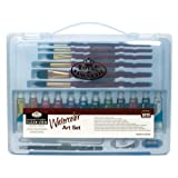 Royal & Langnickel Essentials Clear View Watercolor Painting Set, Large (Color: Multicolor)