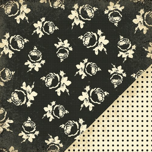 Paper Reverie Noir Double-Sided Paper 12