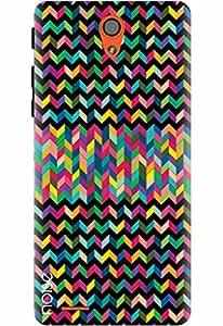 Noise Designer Printed Case / Cover for InFocus M260 / Aztec / Aztec Black Design