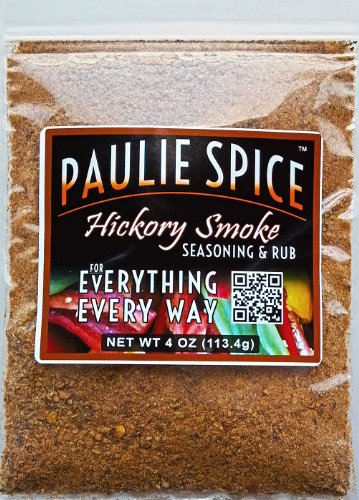 Sweet Hickory Smoke BBQ Seasoning And Rub : Amazing On Ribs, Prime Rib, Steak, Pork, Chicken, Fish And Seafood: 4 Oz.