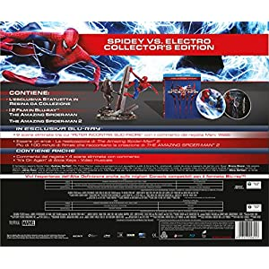 the amazing spider-man collection (ltd ce) (2 blu-ray + statua) box set
