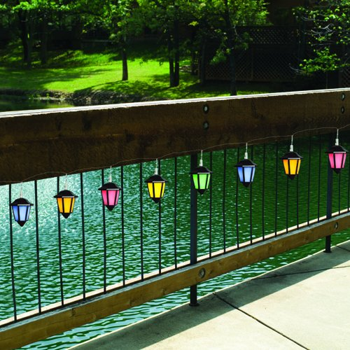 Westinghouse 478208-08MX 8-Piece Solar System Umbrella Lights