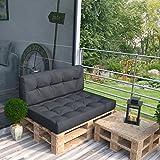 Palettenkissen-Sitzkissen-Rckenkissen-Seitenkissen-Loungembel-Palettensofa-Palettenpolster-Kissen-Sofa-Polster-Indoor-Outdoor-Anthrazit