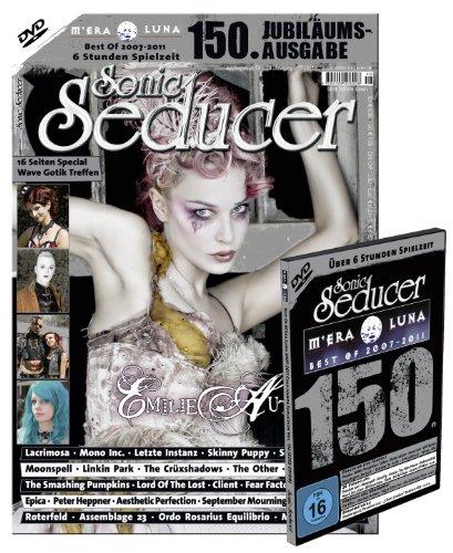 150. Sonic-Seducer-Ausgabe 07-08/12 mit Best Of M'Era Luna 2007-2011 DVD, Emilie-Autumn-Titelstory, Bands: Skinny Puppy, Peter Heppner, Staubkind, ... u.v.m.: + DVD Best Of M'Era Luna 2007-2011