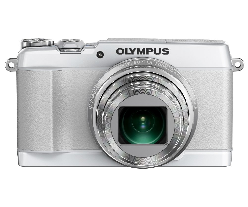 Digital Cameras OLYMPUS STYLUS SH1 WHITE 16MPIXELS