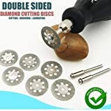 ZOOARTS Double Sided Diamond Cutting Discs (10 Pcs) - HOT SALE (25mm) (Tamaño: 25mm)