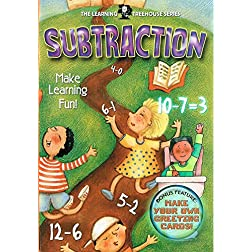 The Learning Treehouse: Preschool - Subtraction