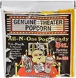 Superior Popcorn Premium 8 Ounce Popcorn Portion Packs, Case of 24