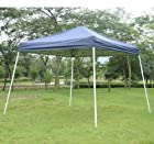 Blue New 10' Pop Up Tent Outdoor Patio Instant Canopy Shelter