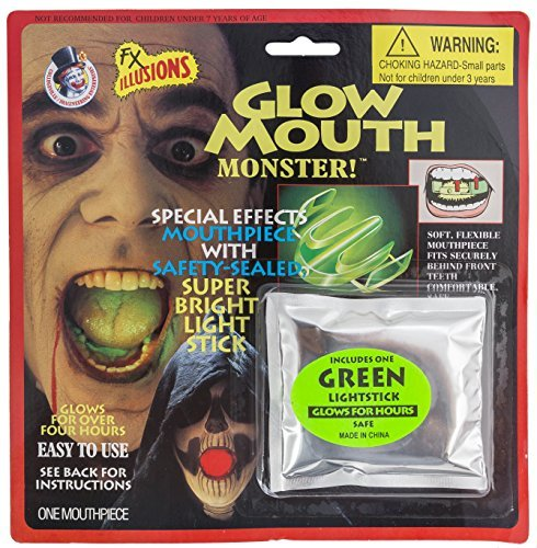 Rubie's Costume Co Glow Mouth Make Up Kit Costume - 1
