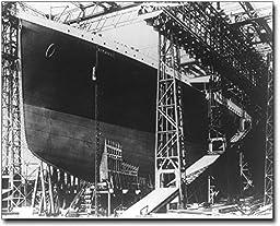 The Titanic Ship in Dry Dock 1912 8x10 Silver Halide Photo Print