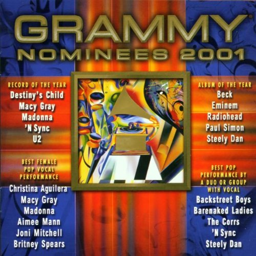 2001 Grammy Pop Nominees by Various Artists