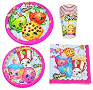 Shopkins Birthday Party Supplies Pack…