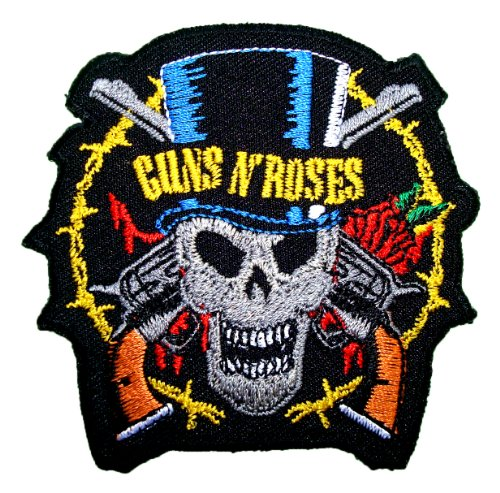 Guns n Roses Rock band Symbol t Shirts MG16 iron on Patches