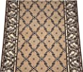 Dean Washable Carpet Rug Runner - Trellis Beige - Purchase By the Linear Foot