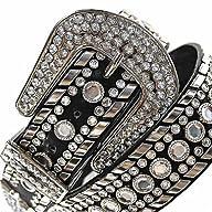 Luxury Divas Black Gorgeous Rhineston…