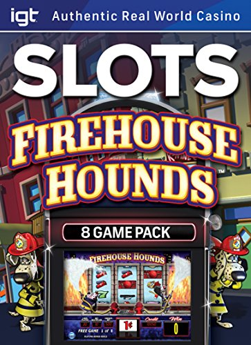 IGT Slots Firehouse Hounds 8-Pack: Enjoy Real Vegas Slot Machines on your OWN PC! [Download] (Casino Slot Machine Games For Pc compare prices)