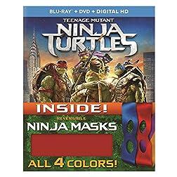 Teenage Mutant Ninja Turtles [Blu-ray + DVD + Digital HD]