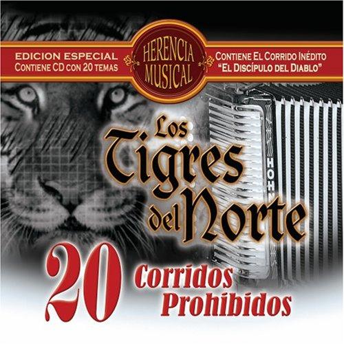 Los Tigres Del Norte - 20 Corridos Prohibidos - Zortam Music