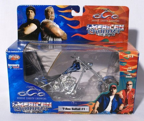 American Chopper - T-Rex Softail #1 - 1:18 scale