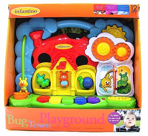 Infantino Bug Town Playground Toy - 1