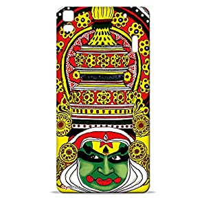 ezyPRNT Hard Back Case For Lenovo A7000 note Kathakali 2