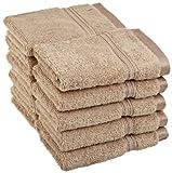 Superior Egyptian Cotton 10-Piece Face Towel Set, Taupe
