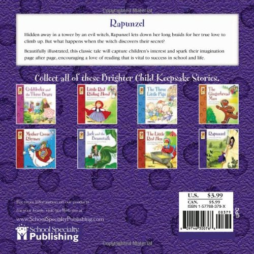 Rapunzel (Brighter Child Keepsake Stories)