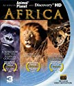 Africa:�Blu-ray�3-pack�(A�Kingdom�for�the�Dzanga�Gorilla, �Africas�Super�Seven�&�Africas�Outsiders) (3 Discos) [Blu-Ray]