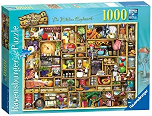 Ravensburger The Curious Cupboard The Kitchen Cupboard Jigsaw Puzzle (1000 Piece)