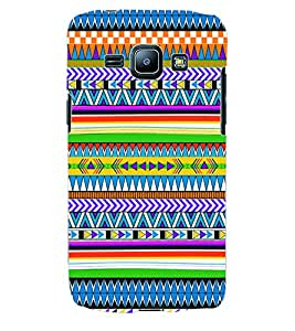 ColourCraft Tribal Pattern Back Case Cover for SAMSUNG GALAXY J1