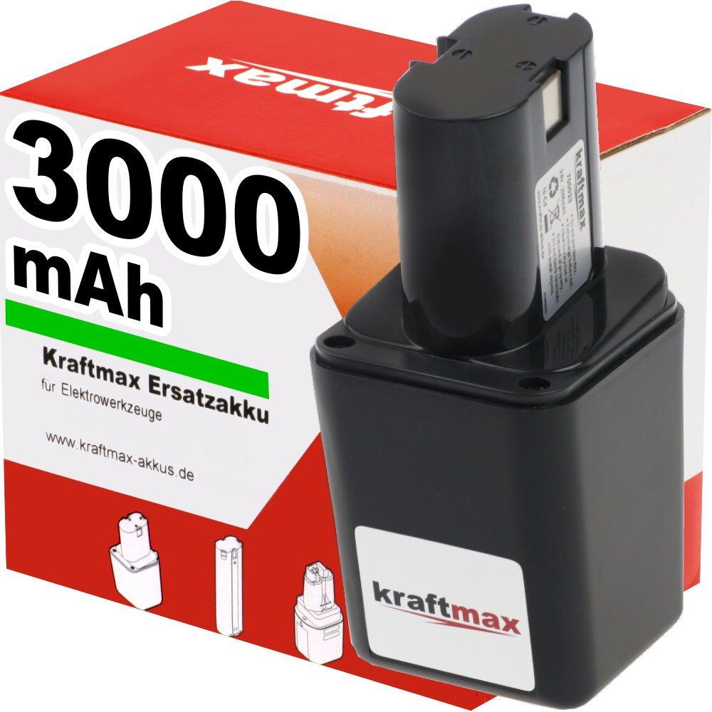 Kraftmax 9,6V Akku für BOSCH  3000mAh  Überprüfung und Beschreibung
