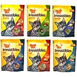 Meow Mix Irresistibles Cat Treats Variety Pack - 6 Flavors - 2.5 Ounces Each (6 Total Pouches)