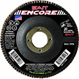 SAIT 71209 Encore Flap Disc, 4-1/2-Inch by 7/8-Inch Z 80X, 10-Pack
