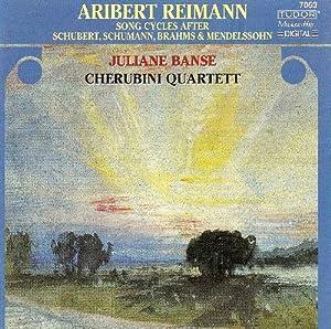 Song Cycles After Schubert Schumann Brahms