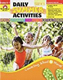 img - for Daily Summer Activities Moving from Kindergarten to 1st Grade book / textbook / text book