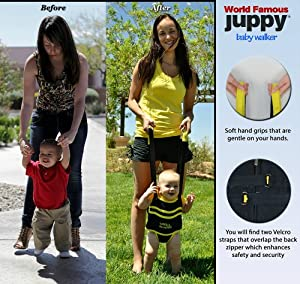Juppy Baby Walker Momentum Yellow with Free Matching Travel Bag
